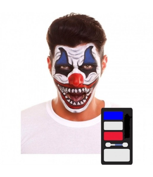 Kit Maquillaje de Payaso Halloween