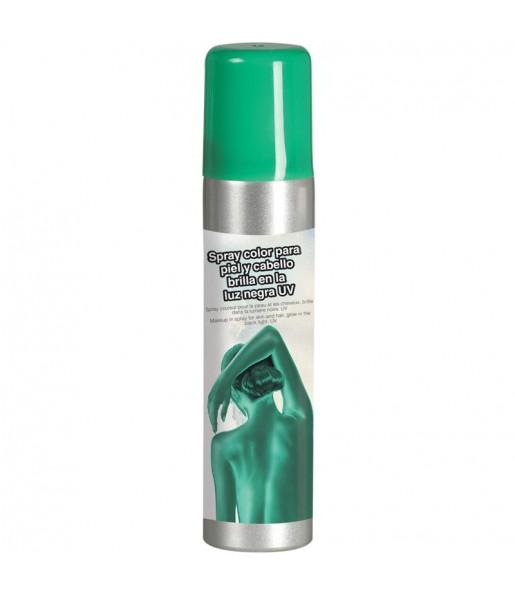 Maquillaje Spray Verde