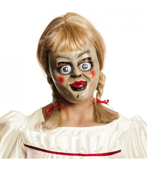Máscara Annabelle con peluca