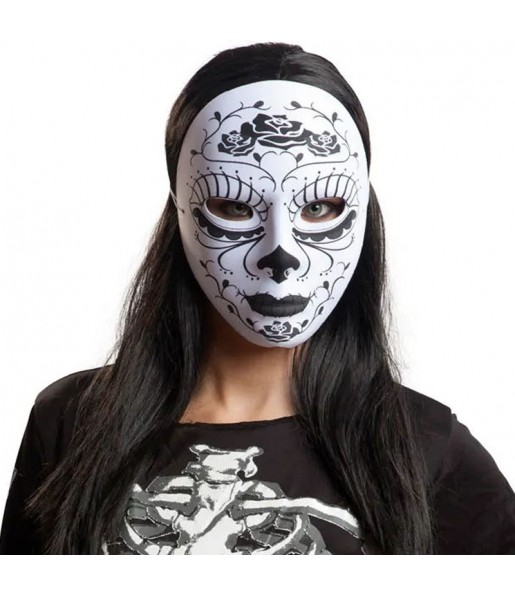 Máscara Catrina mexicana