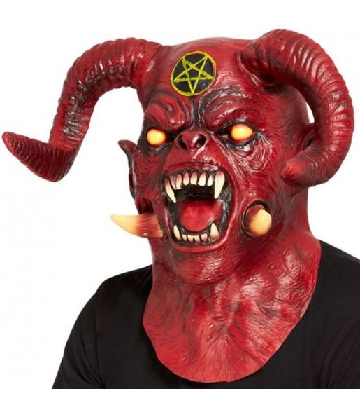 Máscara demonio Satánico deluxe