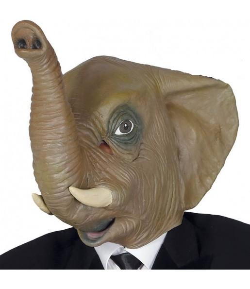 Máscara Elefante Látex