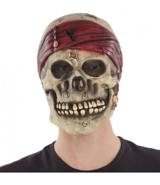Máscara Esqueleto Pirata