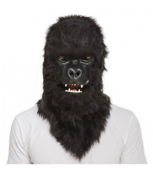 Máscara Gorila King Kong con mandíbula móvil