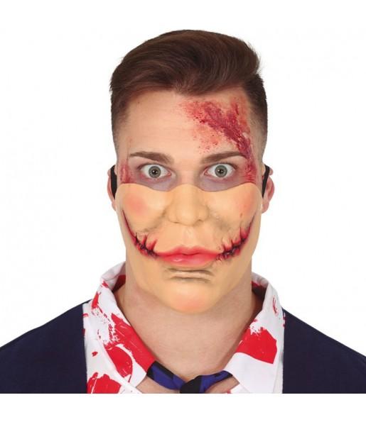 Máscara Joker boca cortada