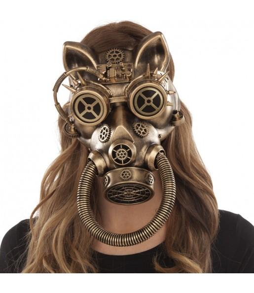 Máscara Steampunk Felino