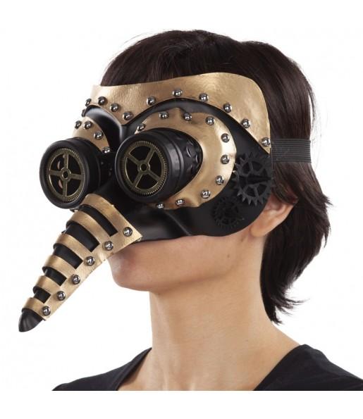 Máscara Steampunk con nariz