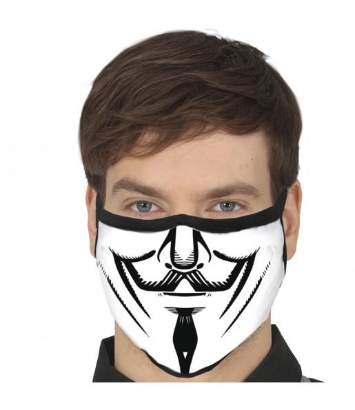 Mascarilla de Anonymous para adulto
