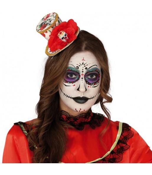 Mini Sombrero Catrina Mexicana