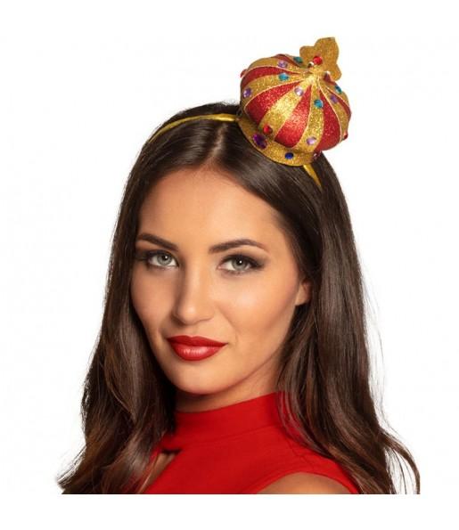 Mini Sombrero Reina Corazones