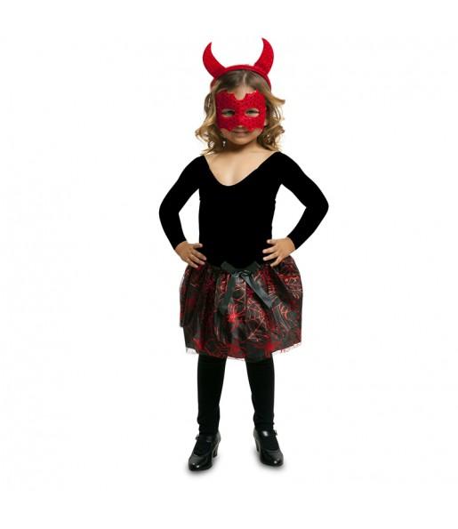 disfraz diablesa tutú infantil