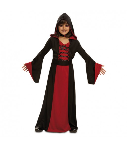 Disfraz de Hechicera Roja Infantil