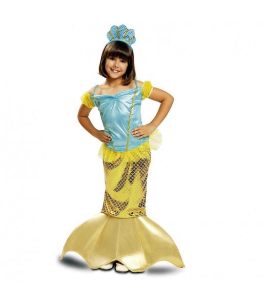 Disfraz de Sirenita Dorada