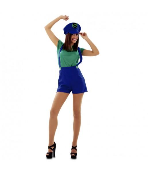 Disfraz de Chica Luigi