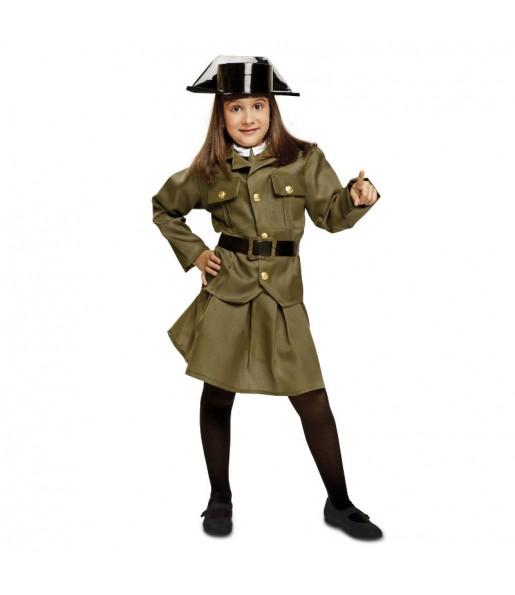 Disfraz de Niña Guardia Civil