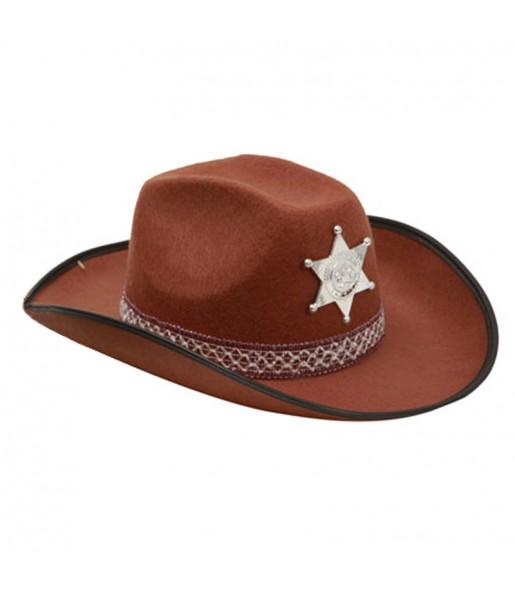 Sombrero Vaquero Marrón adulto