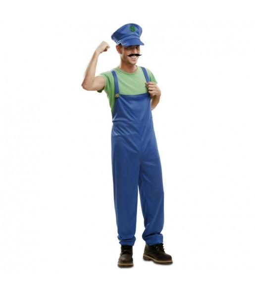 Disfraz de Súper Luigi hombre