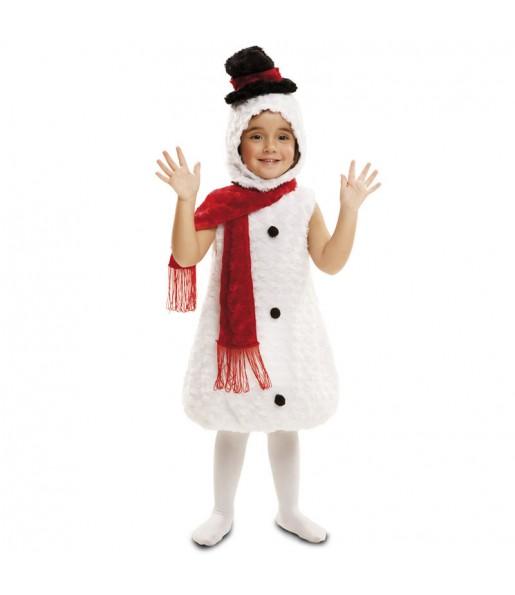 Disfraz de Muñeco de Nieve Peluche