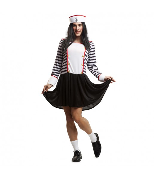 disfraz marinera travesti adulto