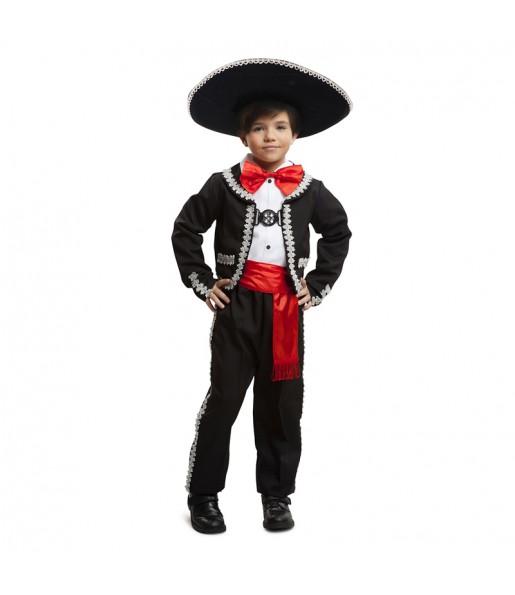 disfraz mariachi mejicano lujo infantil