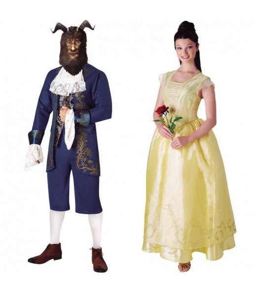Pareja La Bella y la Bestia – Disney™