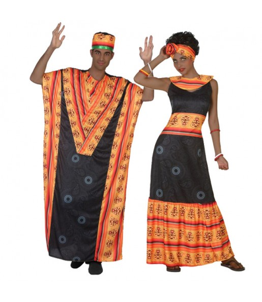 Pareja Africanos