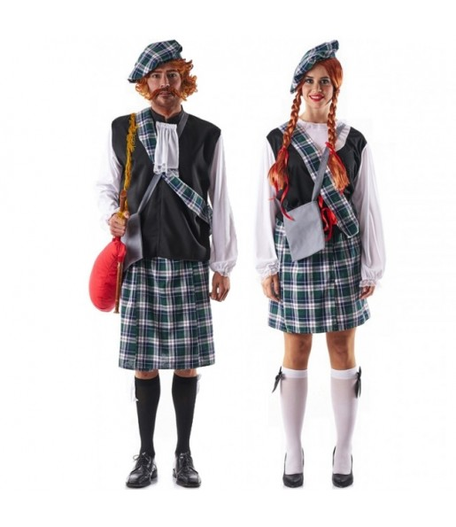 Pareja Escoceses Celtas