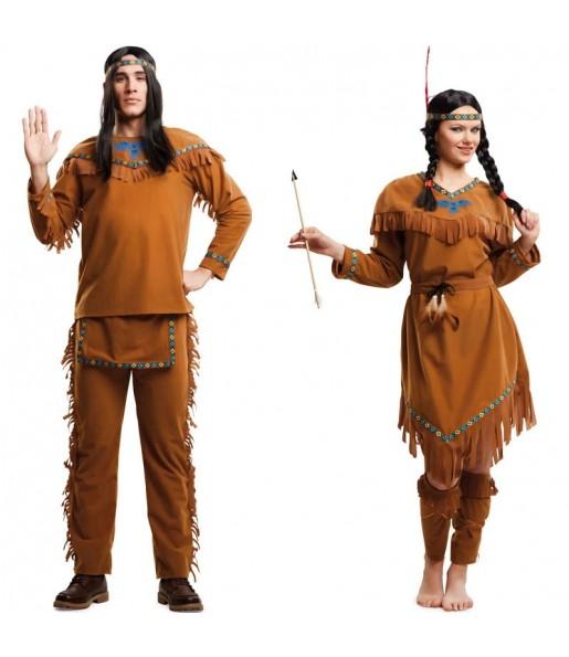 Pareja Indios Pardos