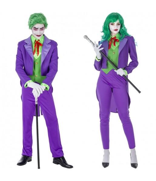 Pareja Jokers Supervillanos