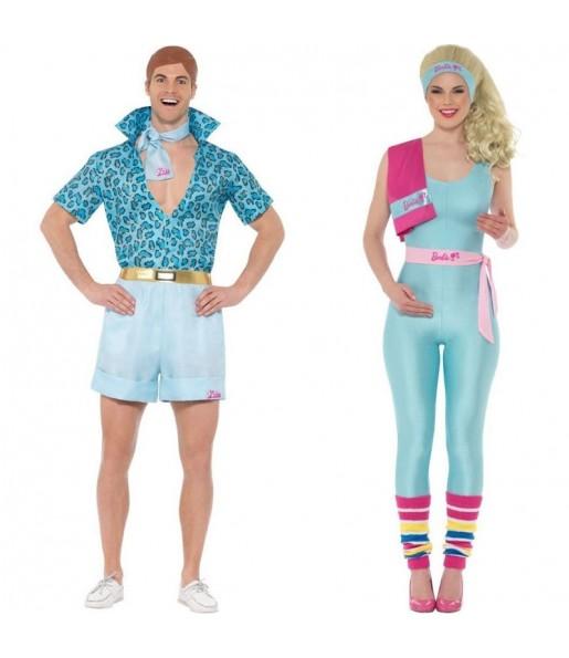 Pareja Barbie y Ken