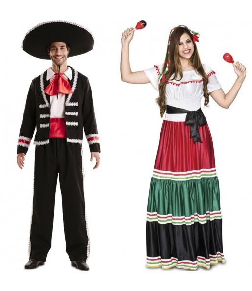 Pareja Mexicanos Tradicionales