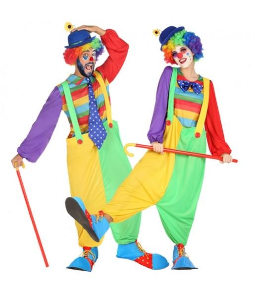 Pareja Payasos de Circo