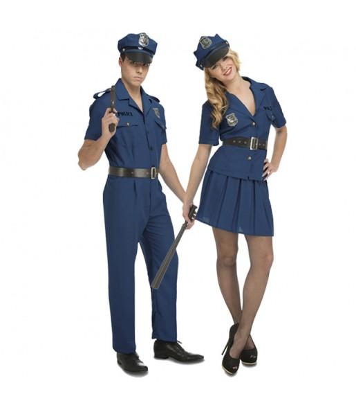 Pareja Policías Nueva York
