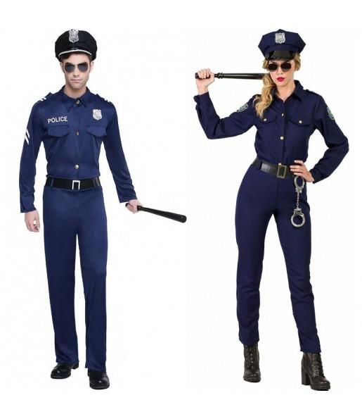 Pareja Policías Adulto
