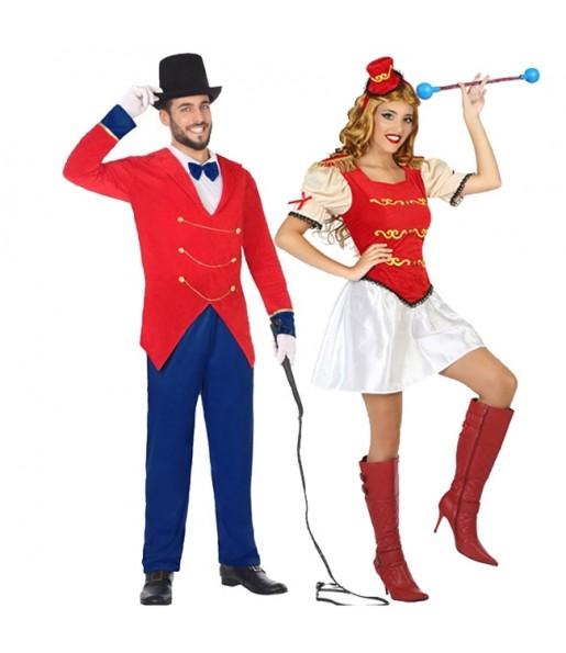 Pareja Presentadores de Circo