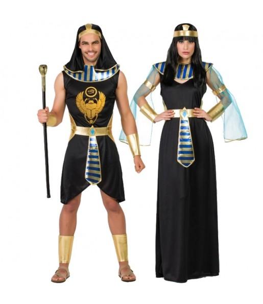 Pareja Egipcios Asenet y Abayomi
