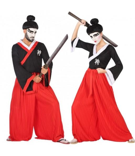Pareja Guerreros Samuráis