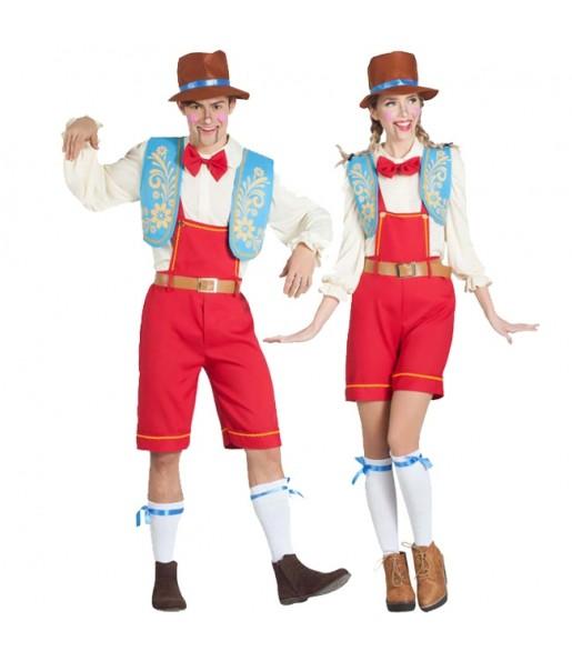 Pareja Marionetas Pinocho
