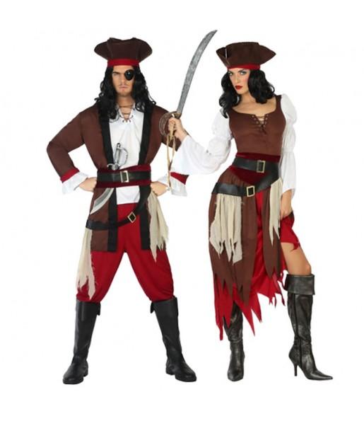 Pareja Piratas Caribe