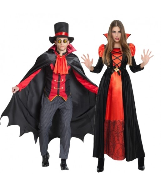 Pareja Vampiros Drácula