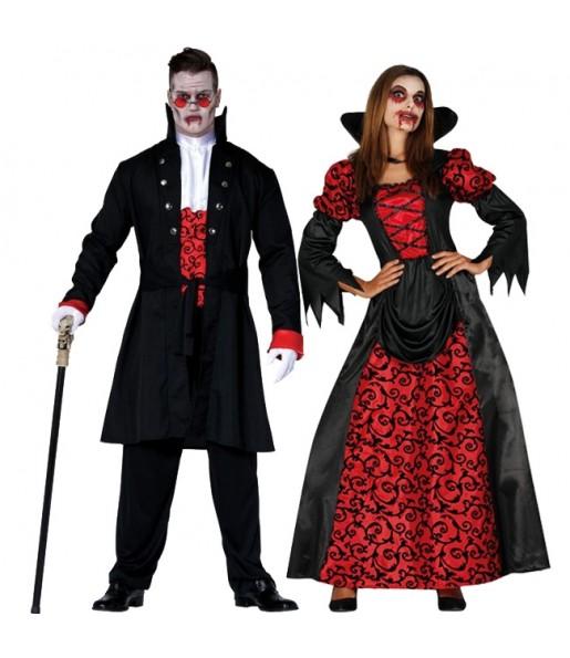 Pareja Vampiros Oscuros