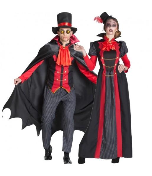 Pareja Vampiros Victorianos