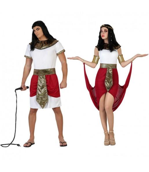 Pareja Egipcios Rojos