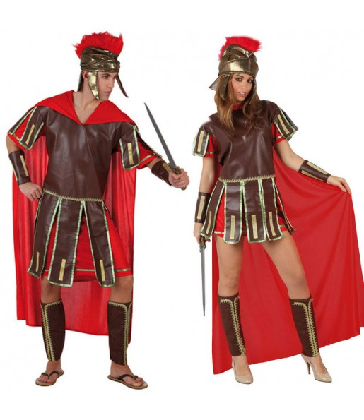 Pareja Guerreros Romanos adulto