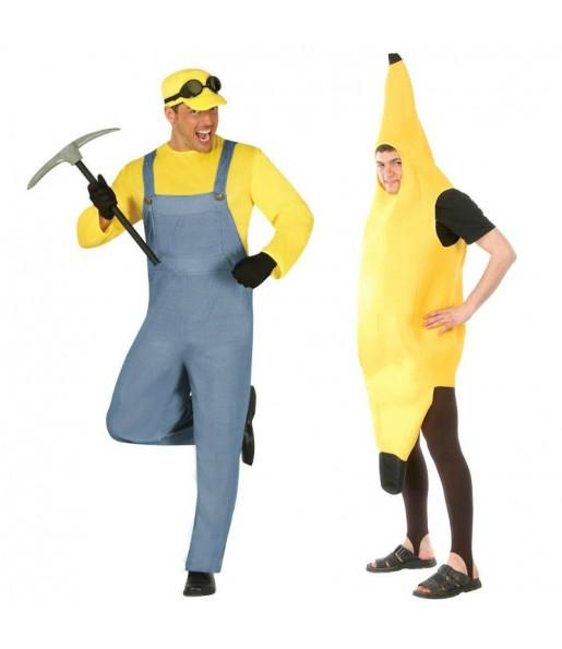 Pareja Minion Banana