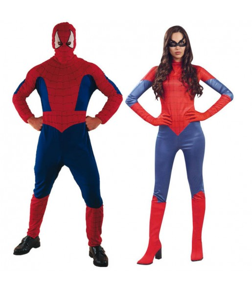 Pareja Spidermans