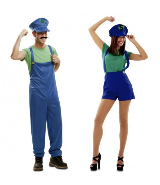 Pareja Super Luigis