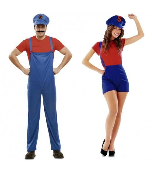 Pareja Super Marios
