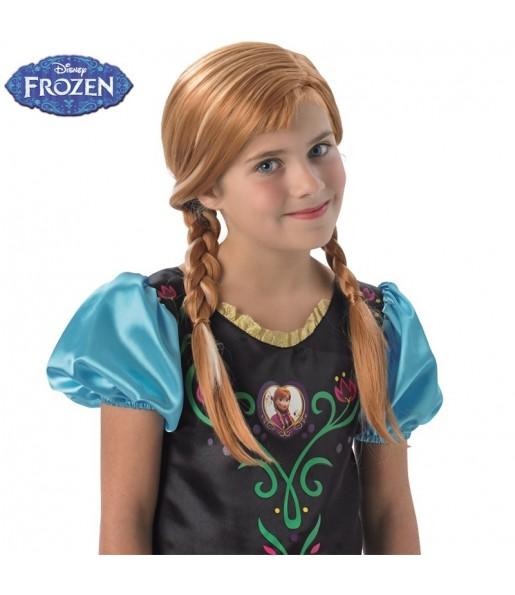 Peluca Anna Frozen para niña