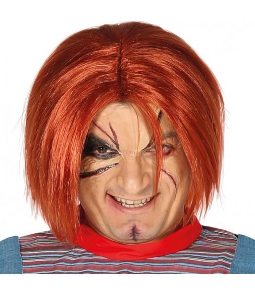 Peluca Chucky: El Muñeco Diabólico